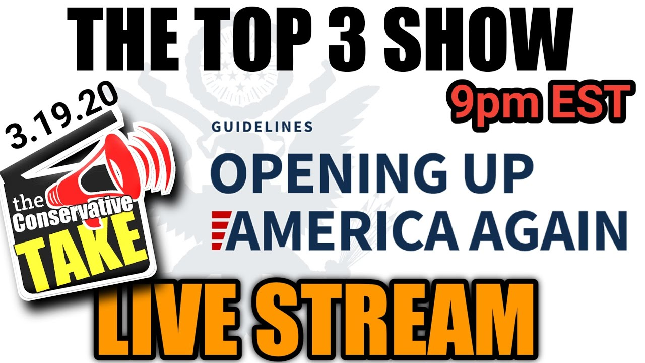 """TCT Live Stream (5/19) """"Opening up America"""" 
