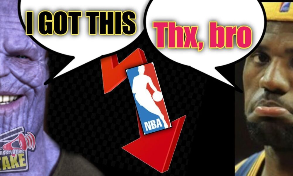 Lebron has NBA in the Toilet – Marvel to the Rescue!
