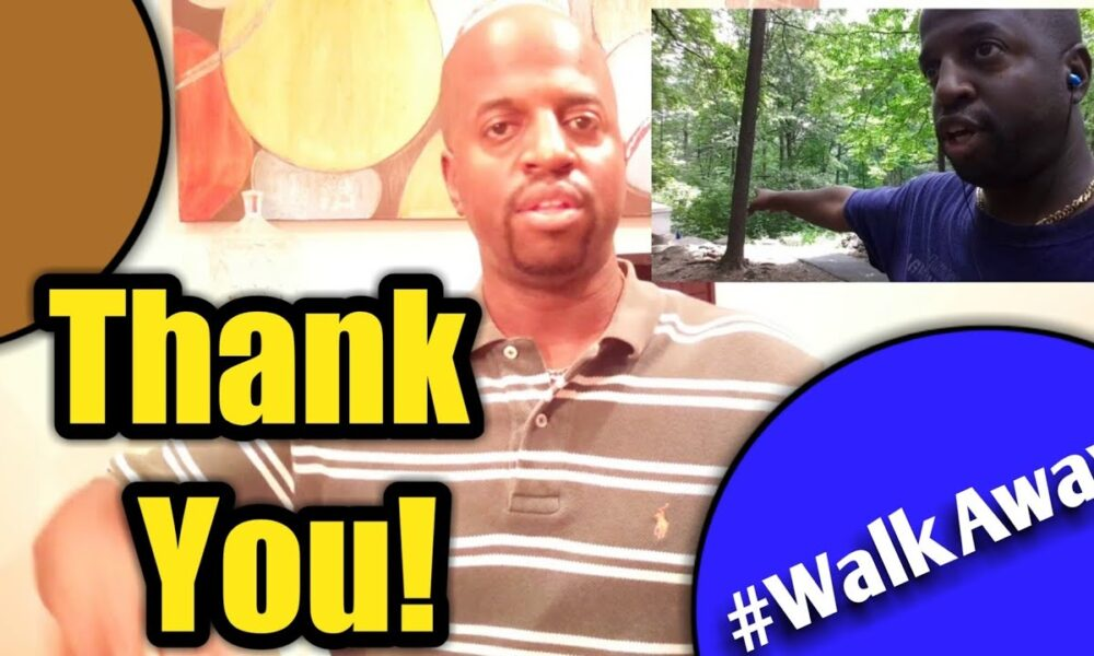Thank you! #WalkAway Series in the Works