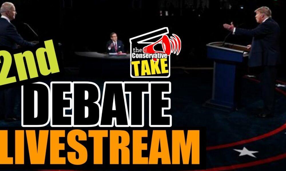 Trump v Biden Presidential Debate #2   LIVESTREAM