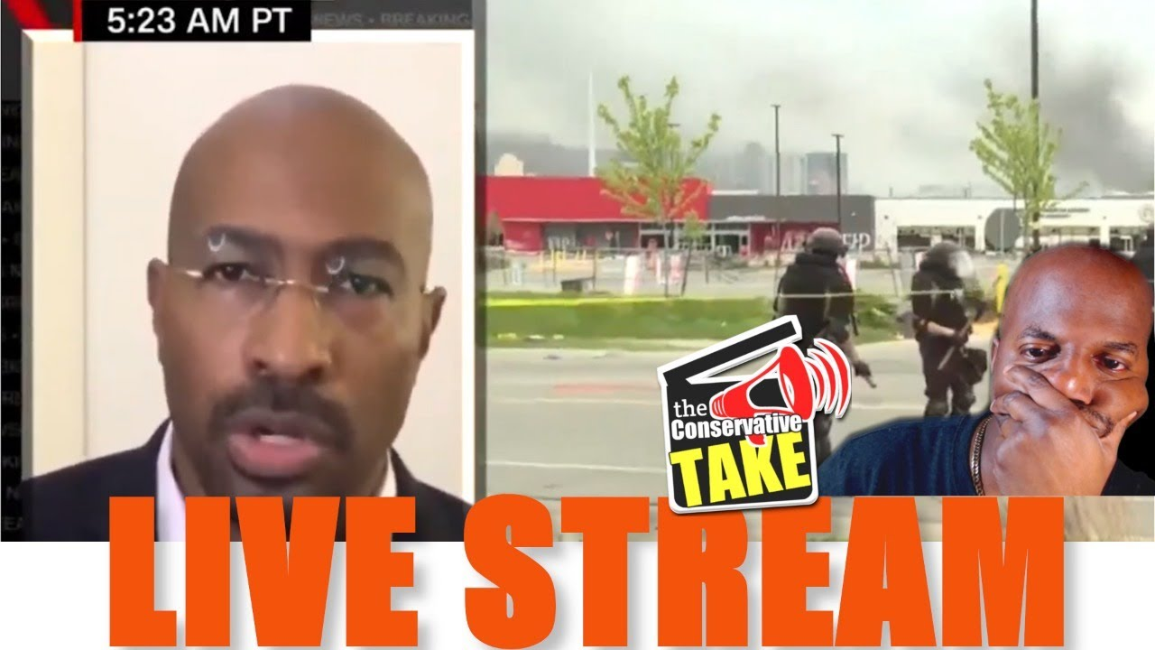 """TCT Live Stream (5/30) """"Thoughts on Van Jones White Liberals"""" comments"""