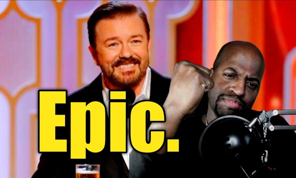 Why Ricky Gervais' intro was legendary.