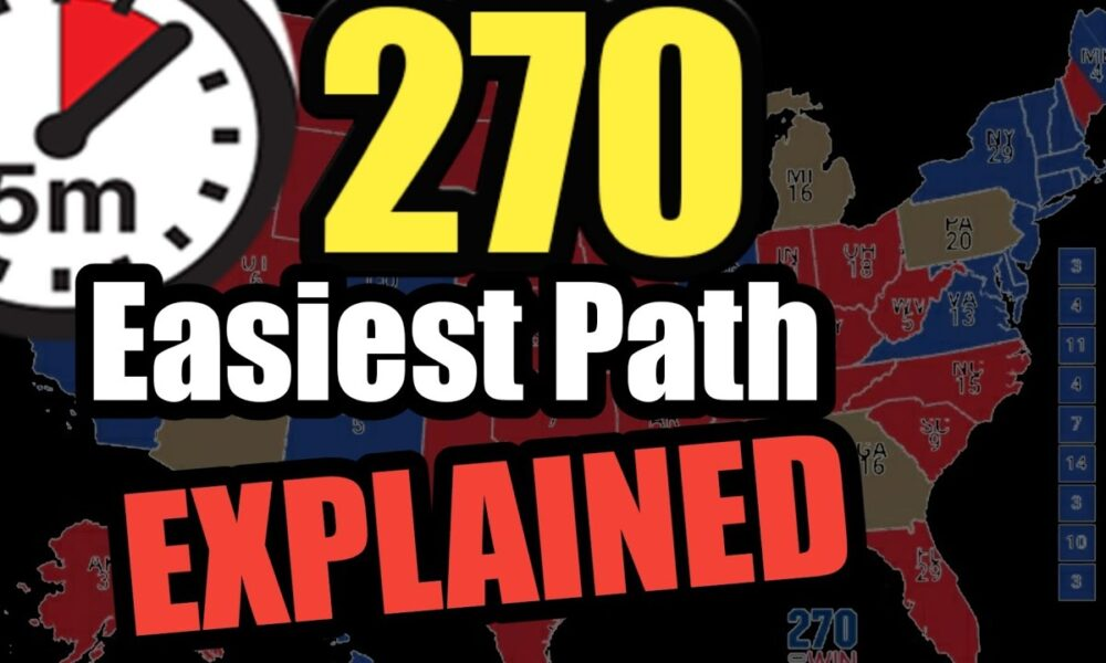 How Trump Gets to 270 | The EASY Way