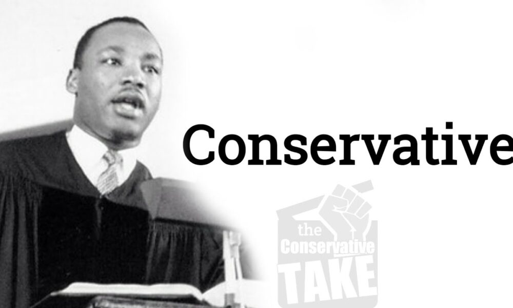 Martin Luther King was a Republican