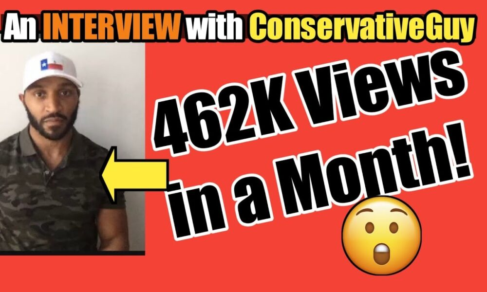 Interview with Youtube's ConservativeGuy | #WalkAway