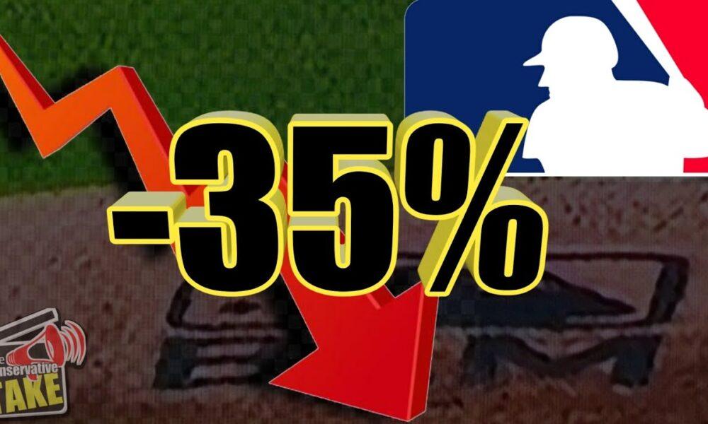 MLB LOSES 35 percent of its CORE fans!