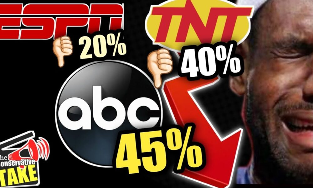 NBA RATINGS with Lebron is WAY worse than you Think!