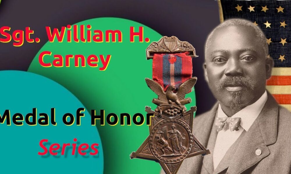 Medal of Honor Series: W. H. Carney