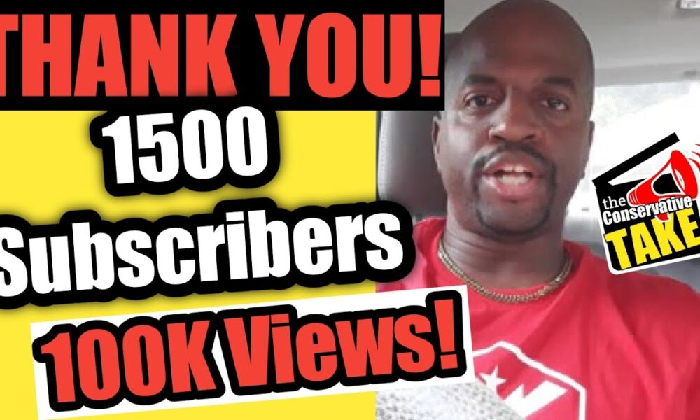 Thank You! 1,500 Subscribers | 100,000 Views! ..and What the Channel is About