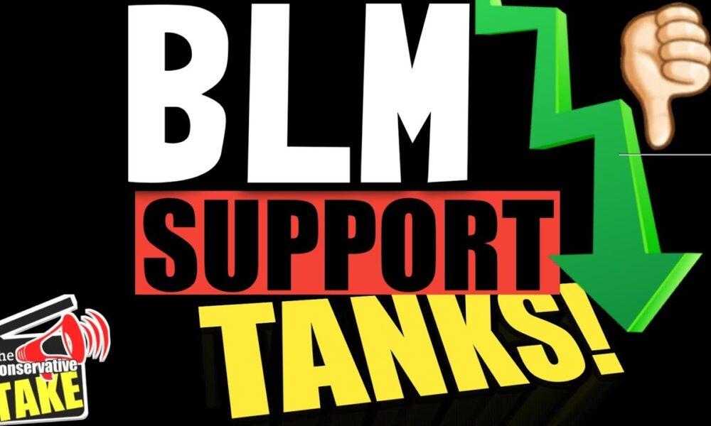 BLM Public Approval is TANKING!