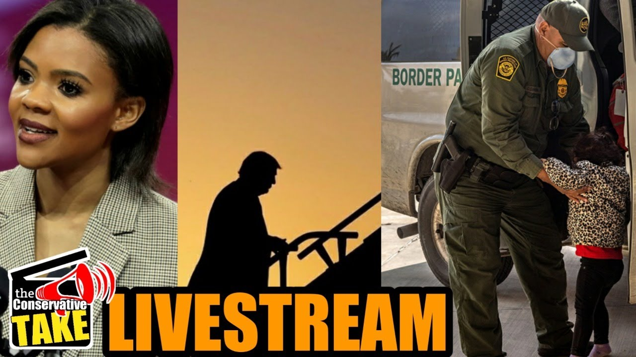 TCT LIVE! Candace Owens | Stairs Hypocrisy | Border Crisis