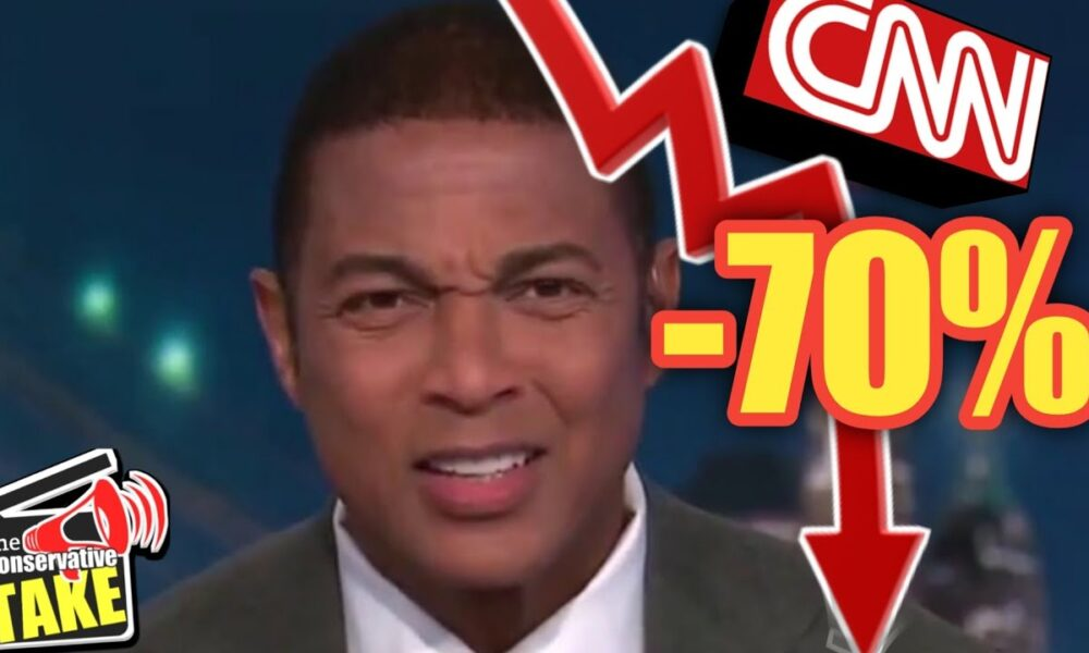 CNN ratings TANK! | LOSE 70% of its Audience!