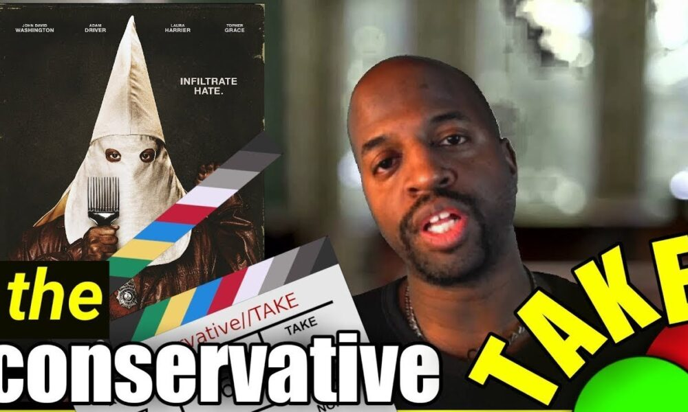 Blackkklansman Movie Review | conservative movie review