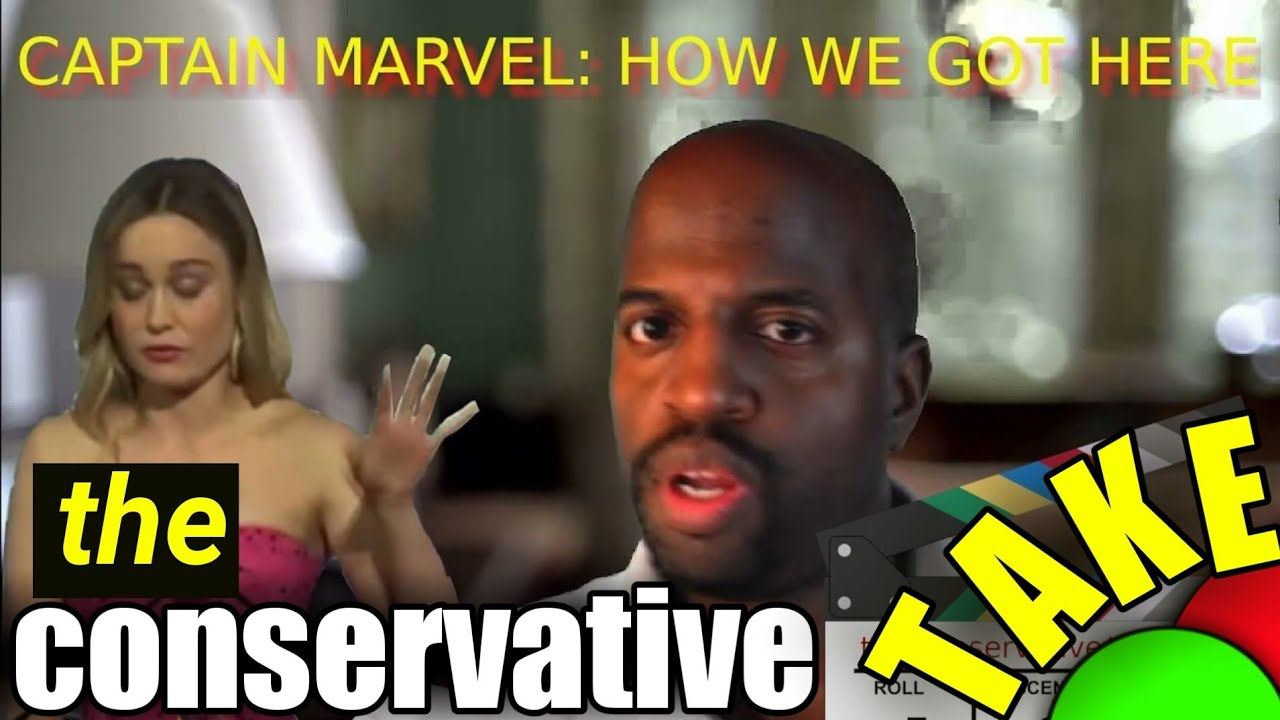 Captain Marvel, How We Got Here – a Conservative//TAKE