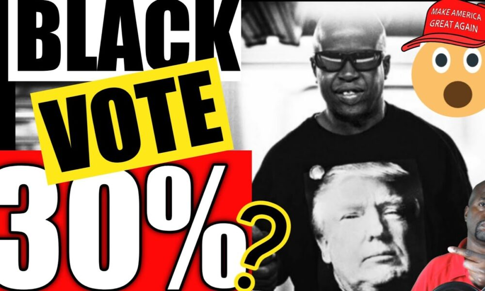 Why Trump could get 30 percent of the Black Vote!