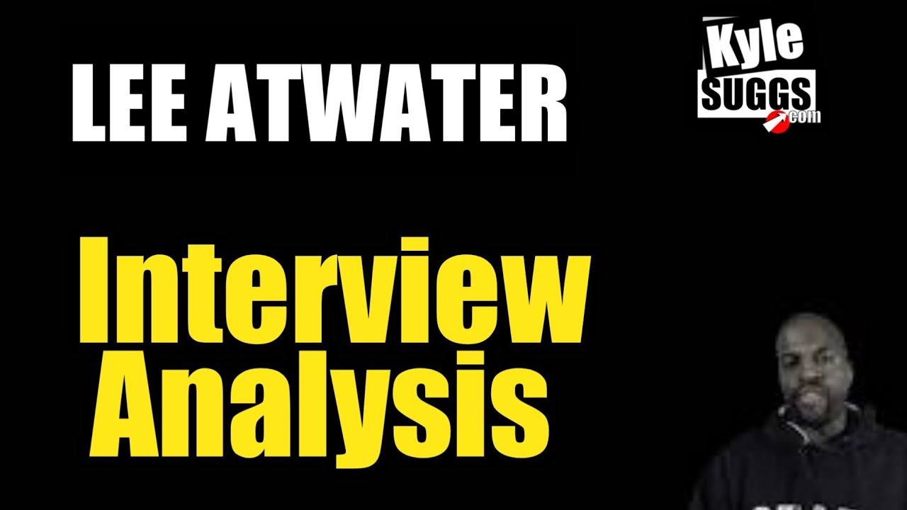 Lee Atwater Interview | No Spin Analysis